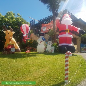 Christmas Light display at Esther Crescent, Mooroolbark