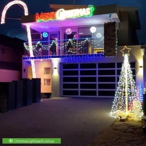 Christmas Light display at 7B Mullaloo Drive, Mullaloo