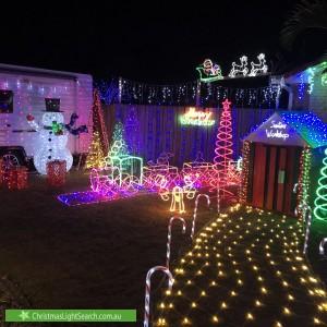 Christmas Light display at 100 Kirralee Crescent, Upper Kedron