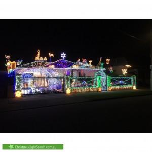 Christmas Light display at 25 Bond Street, West Hindmarsh