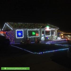 Christmas Light display at 43 Louis Street, Doveton