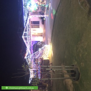 Christmas Light display at 9 Pendragon Court, Camillo