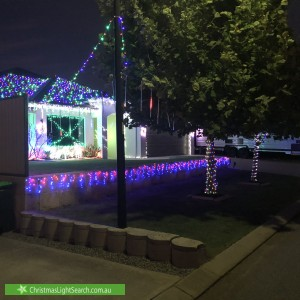 Christmas Light display at 3 Bellingrath Way, Aubin Grove