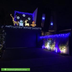 Christmas Light display at 86 Wells Road, Beaumaris