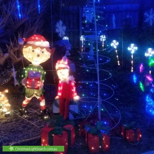 Christmas Light display at 2 Picardy Court, Hoppers Crossing