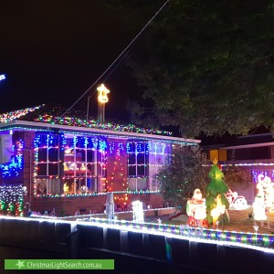 Christmas Light display at 5 Wirraway Crescent, Thomastown