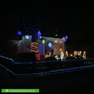 Christmas Light display at 16 Tormey street, Balwyn north