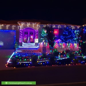Christmas Light display at 3 Catspaw Avenue, Beeliar