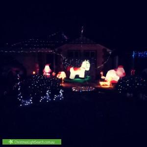 Christmas Light display at 87 Chellaston Road, Munno Para West