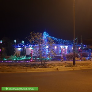 Christmas Light display at  Springbank Boulevard, Burton