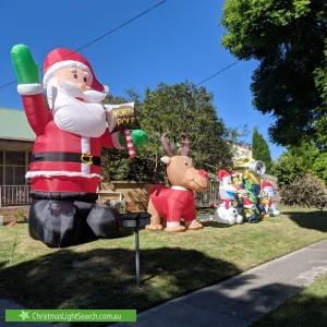 Christmas Light display at 12 Ranfurlie Road, Forest Hill