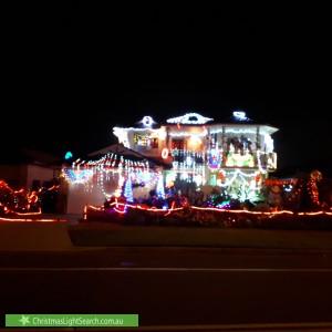Christmas Light display at 72 Cumberland Road, Greystanes