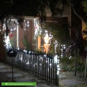 Christmas Light display at  Frederick Street, Richmond