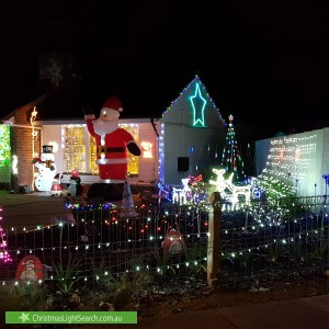 Christmas Light display at 77 Midway Road, Elizabeth East