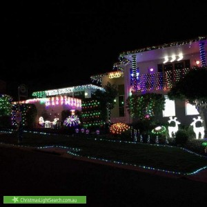 Christmas Light display at Woodhill Link, Jerrabomberra