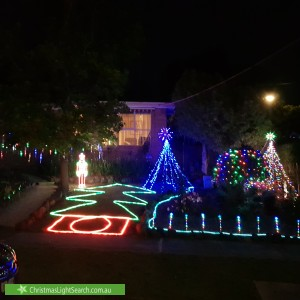 Christmas Light display at Michelle Avenue, Watsonia North