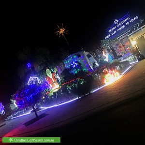 Christmas Light display at 7 Augusta Grove, Yanchep