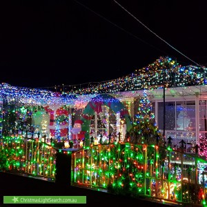 Christmas Light display at Knightsbridge Avenue, Altona Meadows