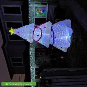 Christmas Light display at 13 Richard Street, Bentleigh East