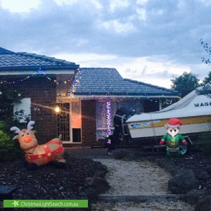 Christmas Light display at 5 Sunny Vale Drive, Langwarrin