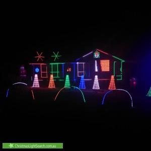Christmas Light display at 2 Mollison Street, Pyalong