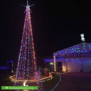 Christmas Light display at  Boxwood Close, Mount Sheridan