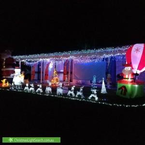 Christmas Light display at  Gannet Street, Kewarra Beach