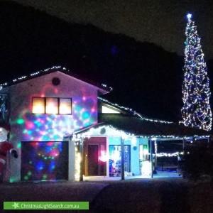 Christmas Light display at  Arthur Lyons Drive, Redlynch
