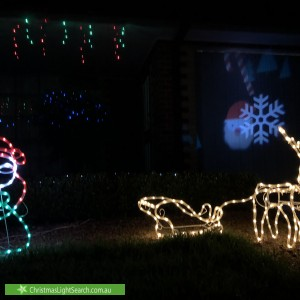 Christmas Light display at 4 Rob Close, Hoppers Crossing