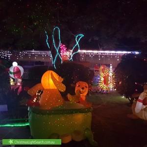 Christmas Light display at 909 Mountain Highway, Bayswater