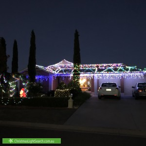 Christmas Light display at 2 Whenan Street, Nuriootpa