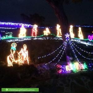 Christmas Light display at  Sturrock Place, Gordon