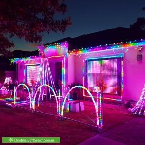 Christmas Light display at 8 Boyce Street, Seaton