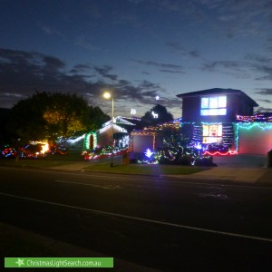 Christmas Light display at 105 Renou Road, Wantirna South