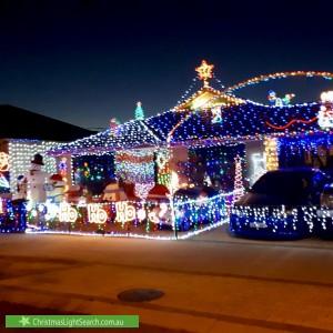 Christmas Light display at 20 Joseph Banks Boulevard, Banksia Grove