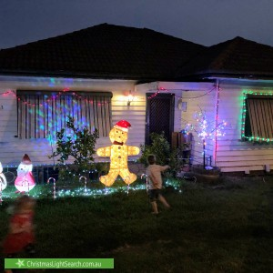 Christmas Light display at 63 Raleigh Road, Maribyrnong
