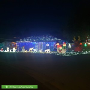 Christmas Light display at  Charlwood Court, Drouin