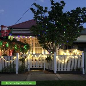 Christmas Light display at 10 Elizabeth Street, Newport