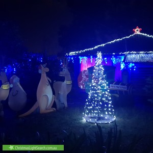 Christmas Light display at 4 Berkley Road, Ringwood
