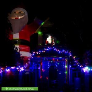 Christmas Light display at 74 Victoria Street, Sandringham
