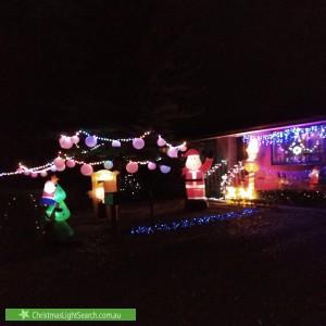 Christmas Light display at 22 Moxhams Road, Monbulk
