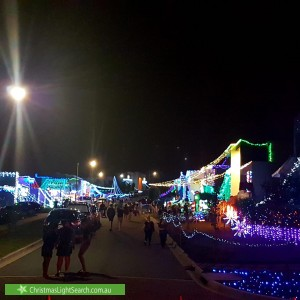 Christmas Light display at Huddy Street, Forde