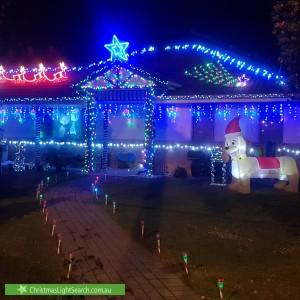 Christmas Light display at 501 Creswick Road, Ballarat Central