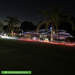 Christmas Light display at 5 Sunshine Court, Wynn Vale
