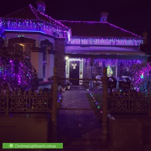 Christmas Light display at 81 Semaphore Road, Semaphore