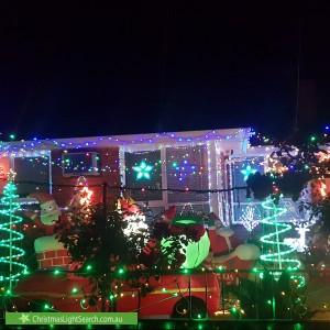 Christmas Light display at 27 Betula Avenue, Nunawading