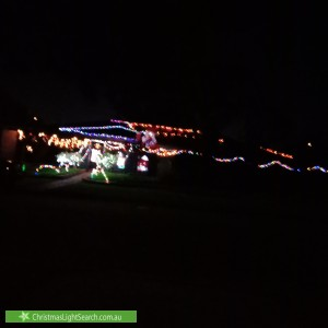 Christmas Light display at 2 Von Braun Crescent, Modbury North