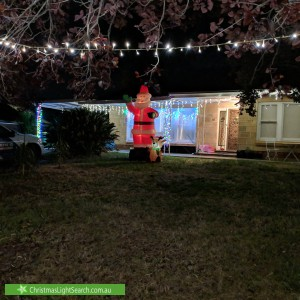 Christmas Light display at 10 Mayfred Avenue, Hope Valley