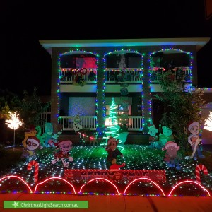 Christmas Light display at 6 Thornhill Drive, Keilor Downs
