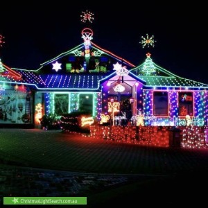 Christmas Light display at  Myamba Court, Carramar